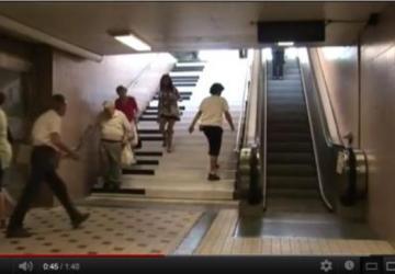 Piano na estação do metro