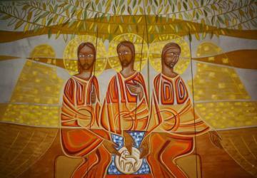 Trindade Santa: Deus é o que ama, o amado e o amor