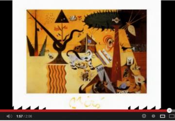 Quadros de Joan Miró