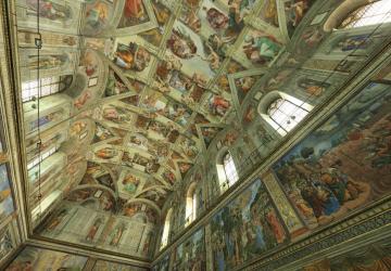 Museu virtual: capela sistina