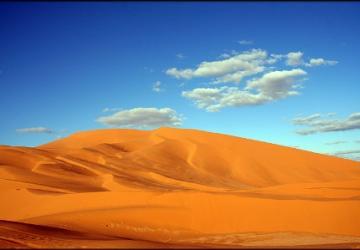 Lá pelas quebradas do deserto...