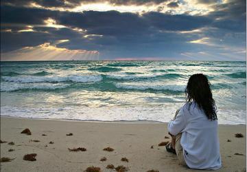 O mar dos meus olhos