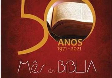 50 anos 1971-2021 - Mês da Bíblia: memórias, desafios e perspectivas