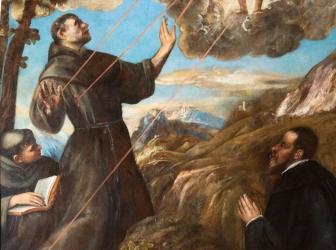 São Francisco na arte dos mestres italianos